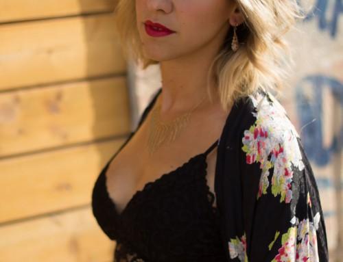 Bralette + Kimono