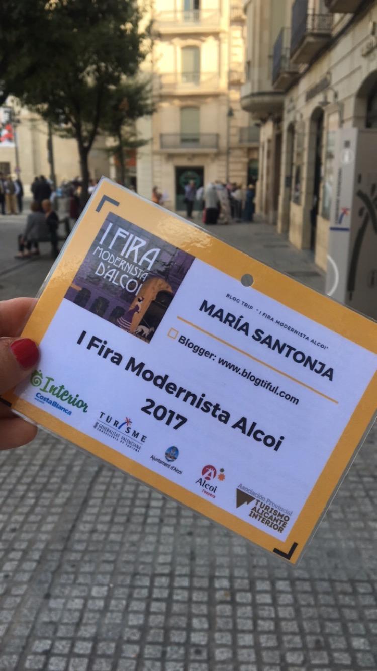 Blogrip I Fira Modernista Alcoi 2017